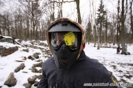 paintball w zimie