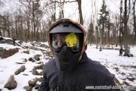 paintball w zimie